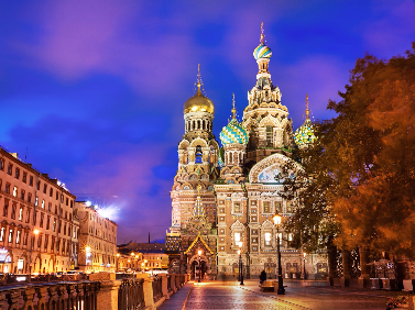 St.Petersburg Tour Oct
